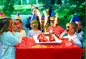 Kids parties and food allergies